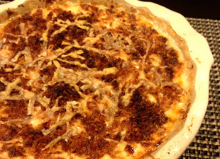 French Onion Cauliflower Gratin recipe